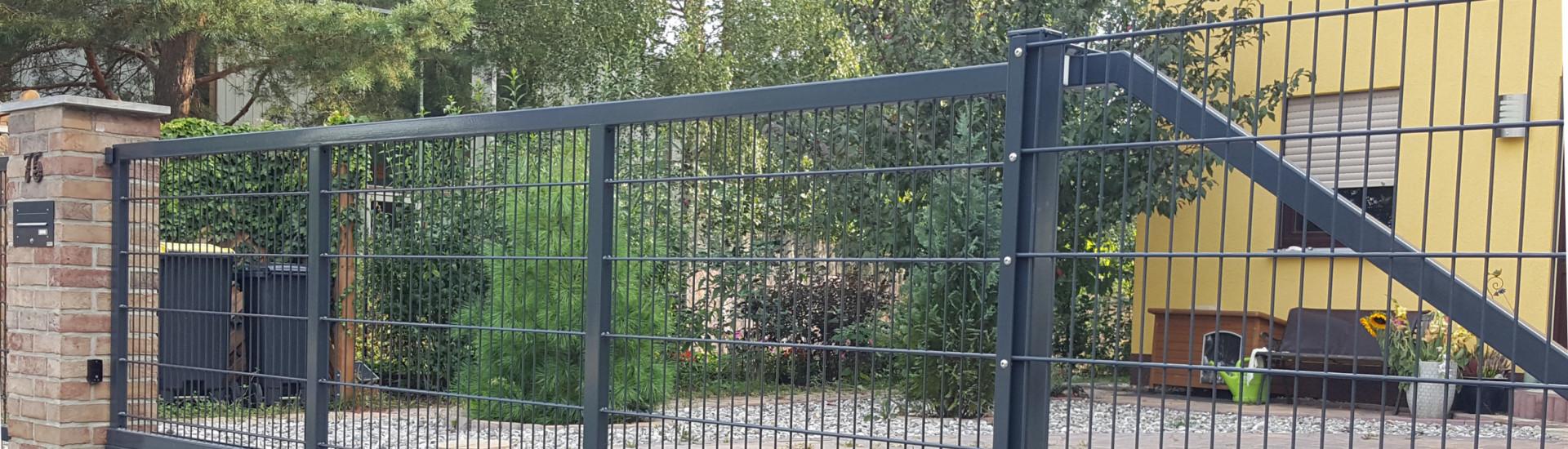 Günstige Metallzäune aus Polen – Nagamet